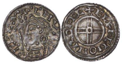Canute (1016-35), Short Cross Penny, Rochester mint