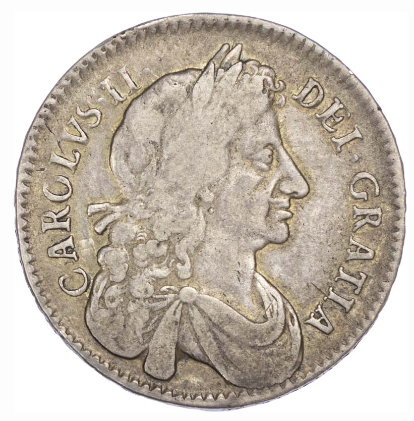 Charles II (1660-85), 1681 Halfcrown, fourth bust