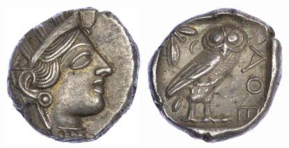 Attica, Athens, Silver Tetradrachm