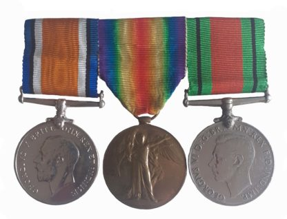 A London Regiment Great War Officer Casualty, Second World War Home Guard, Group of three to 2nd Lieutenant Robert Anthony Basham