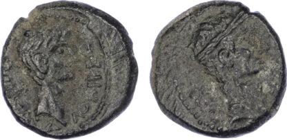 Augustus and Divus Julius Caesar, Bronze Unit