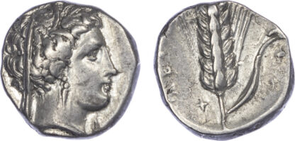 Lucania, Metapontum, Silver Stater