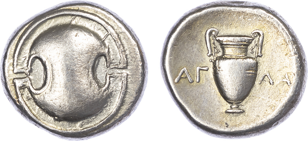 Boeotia, Thebes, Silver Stater
