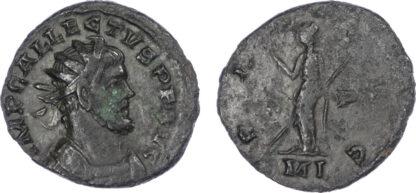 Allectus, Bronze Antoninianus