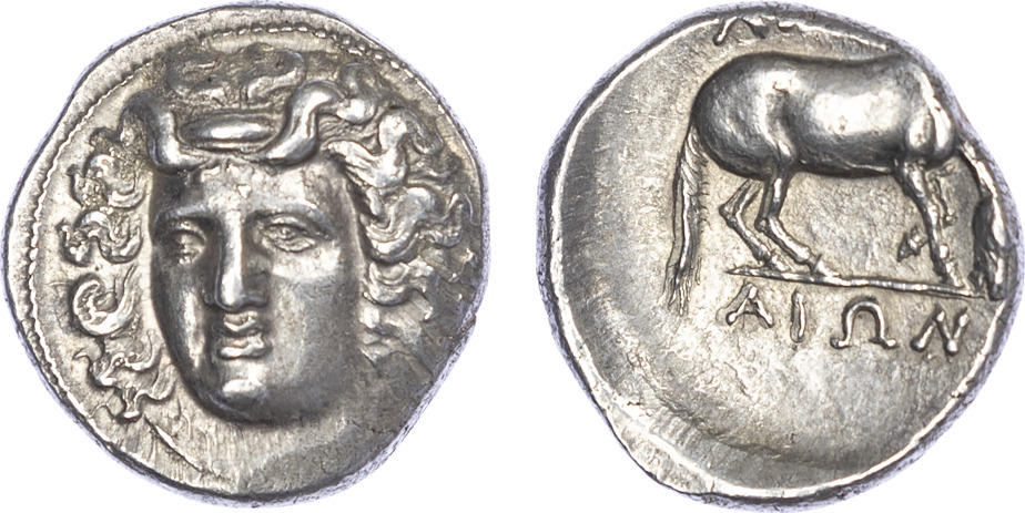 Thessaly, Larissa, Silver Drachm