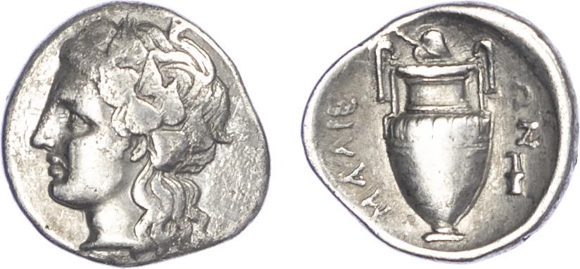 Lamia, Silver Hemidrachm