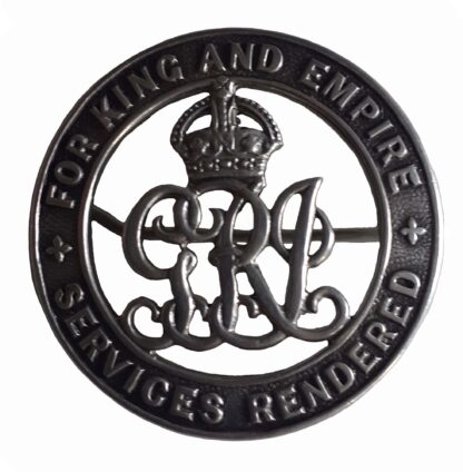 A Great War Silver War Badge to No. 1830 Private W. Parker