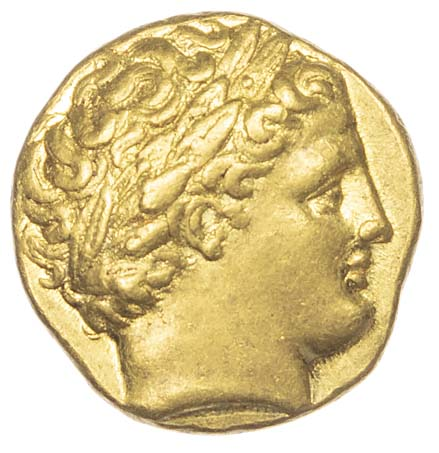 Kings of Macedon, Philip II, Gold Stater