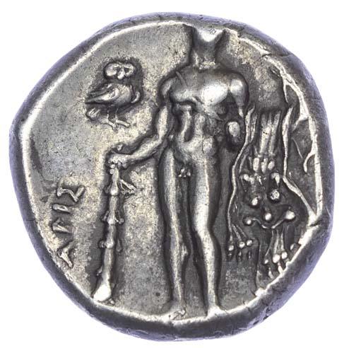 Lucania, Heraclea, Silver Stater
