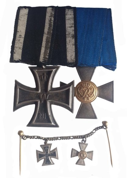 A Great War Prussian Officer's Long Service Group