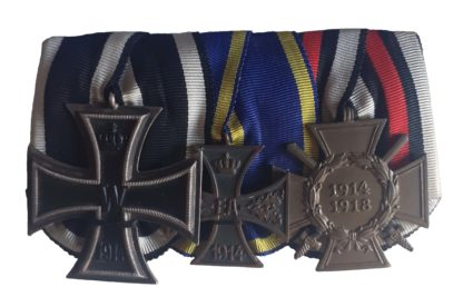 A Great War Brunswick War Merit Cross Group of 3