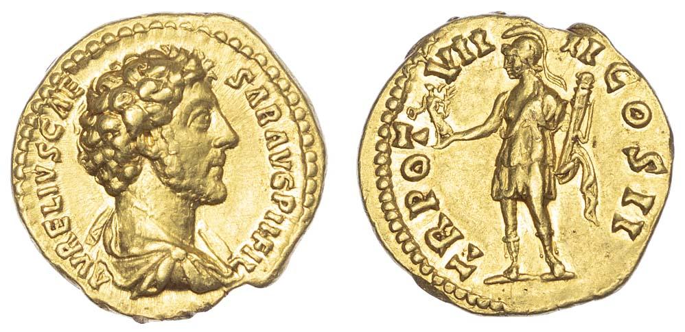 Marcus Aurelius, Gold Aureus