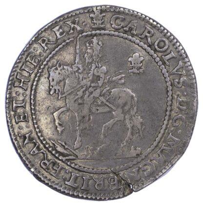 Charles I (1625-49), Half Pound, 1642, Oxford mint