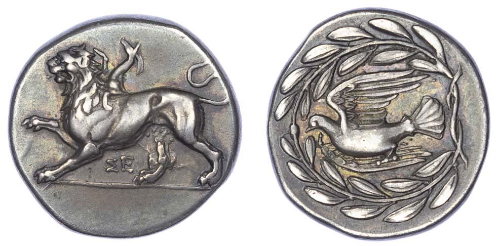 Sikyonia, Sikyon, Silver Drachm