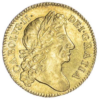 Charles II (1660-85), Guinea, 1676
