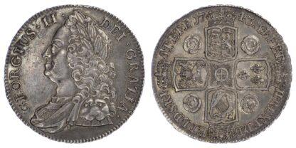 George II Crown, 1743