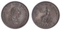 George III (1760-1820), Farthing, 1799, Bronzed Proof