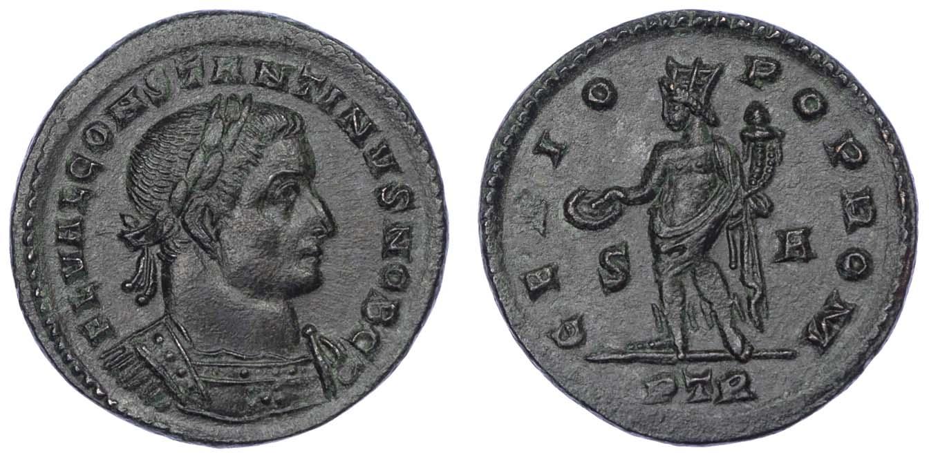 Constantine I, Billon Follis