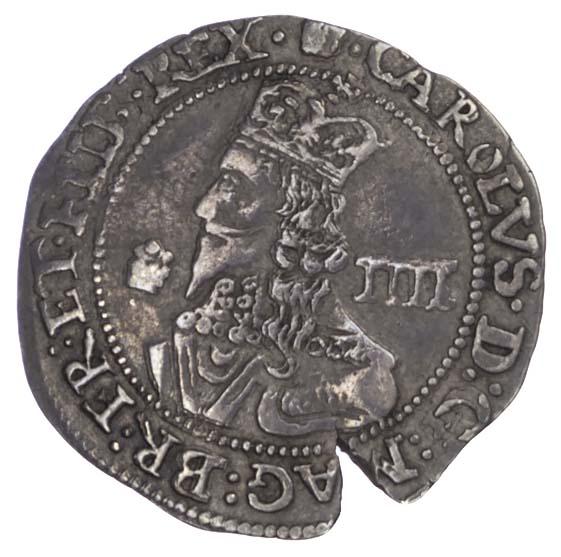 Charles I (1625-49), Groat, 1646, Bridgnorth on Severn mint