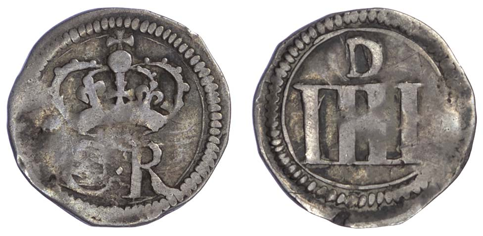 Charles I (1625-49), Groat, (c.1643-44), Ormonde money