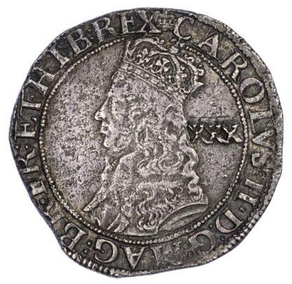 Charles II (1660-85) Halfcrown, Hammered third Issue, (c.1660-62)