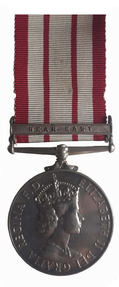 Naval General Service Medal 1909-62, EiiR, to Control Electrical Artificer M. Davis