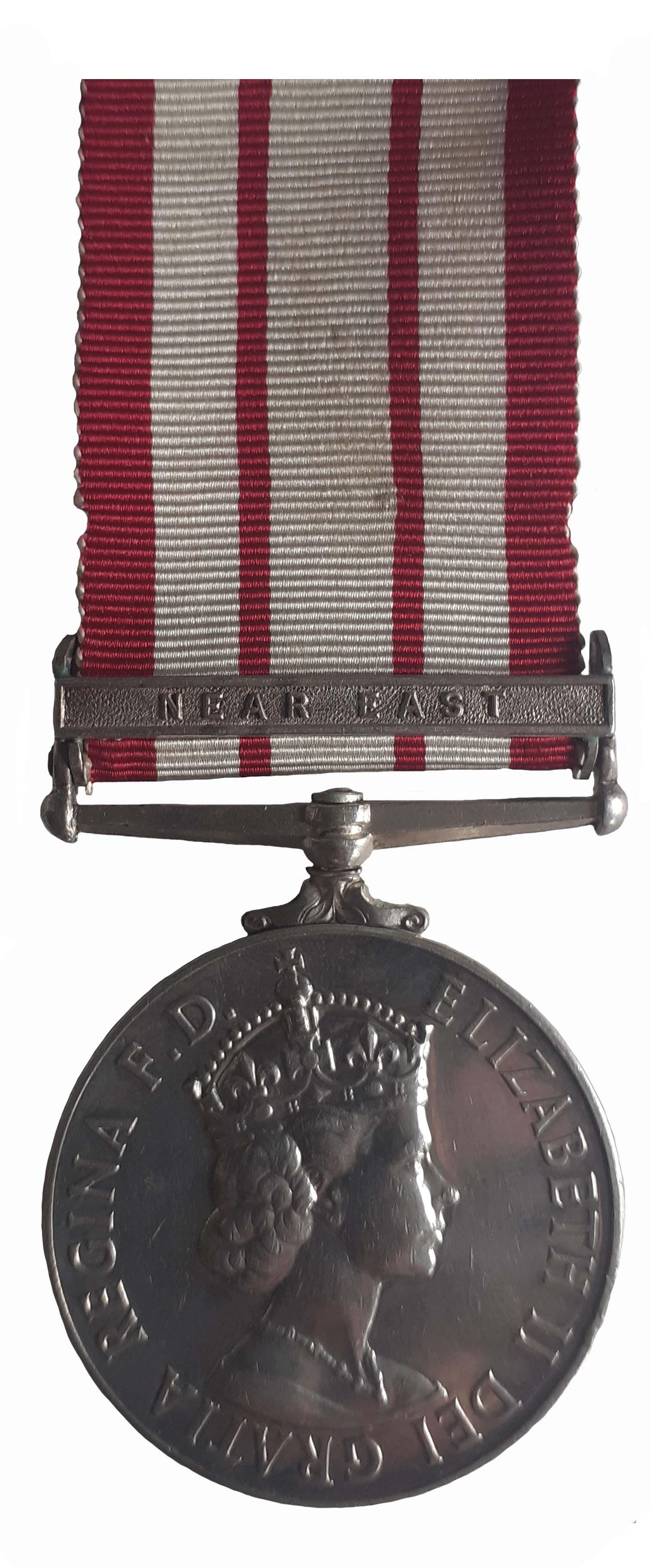Naval General Service Medal 1909-62, EiiR, to Control Electrical Artificer M. Davis
