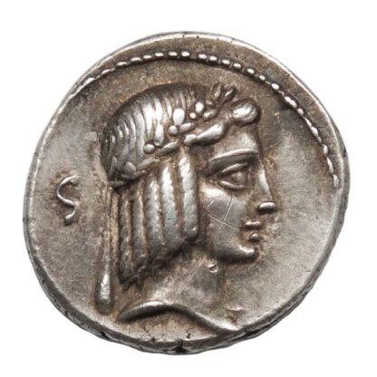 C. Calpurnius Piso Frugi, Silver Denarius