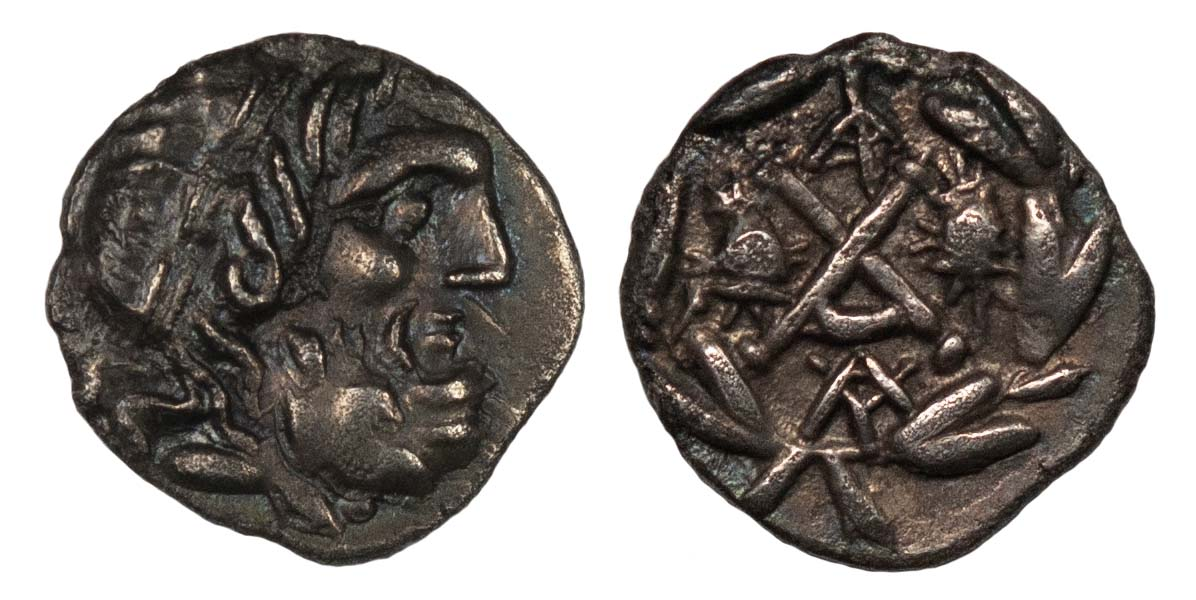 Sparta, Silver Hemidrachm