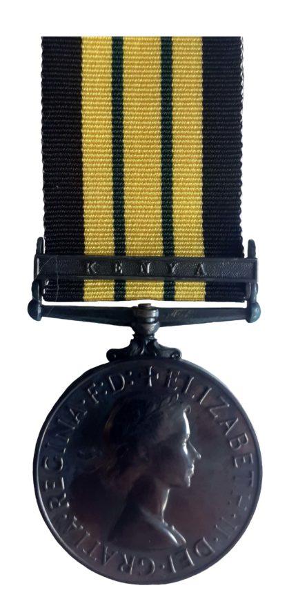 Africa General Service Medal,EiiR, one clasp, Kenya, to A.I. (R) Bir Singh