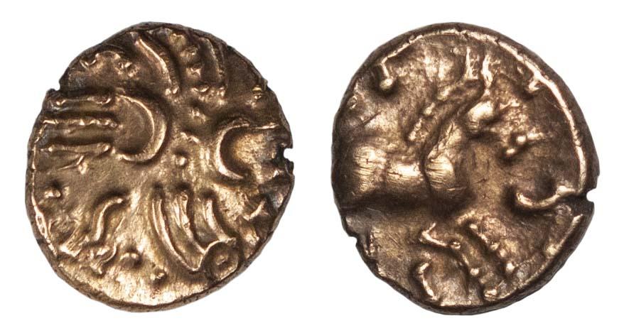Tasciovanus, Gold Quarter Stater