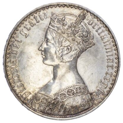 Victoria (1837-1901), Proof Gothic Crown, 1847, Undecimo