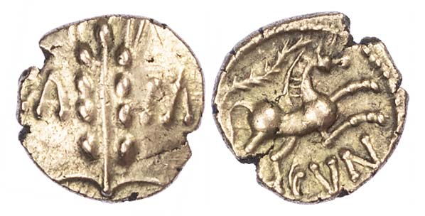 Cunobelin, Gold Quarter Stater