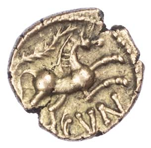 Cunobelin, Gold Quarter Stater