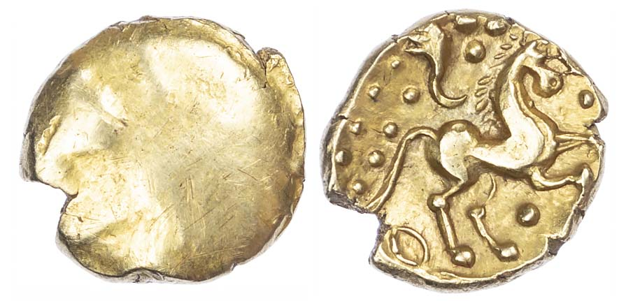 Trinovantes and Catuvellauni, Gold Stater