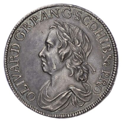 Cromwell (1656-58), Crown, 'Dutch Copy', dated 1658