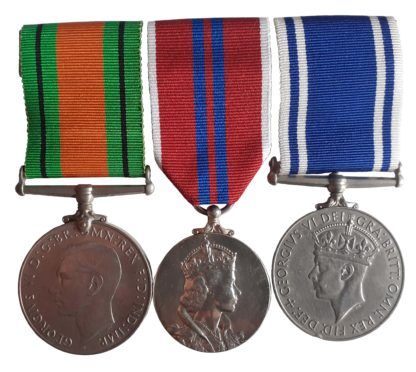 A World War Two, Police Long Service, 1953 Coronation Group of three to Constable George Waterman