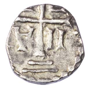 Merovingians, Marseille (around AD 700) AR Denier
