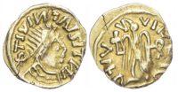 Merovingians, Burgundy region (AD 518-580) AV Tremissis