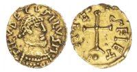Merovingians, Metz (early 7th century) AV Tremissis