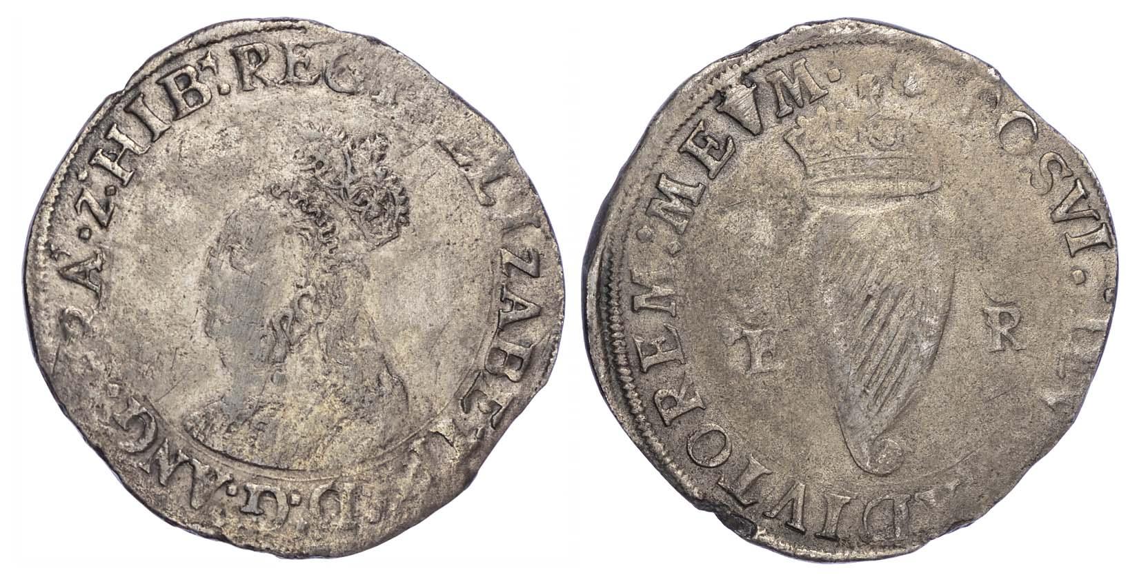 Ireland Elizabeth I (1558-1603), Shilling, 1558, 'REGI' Legend