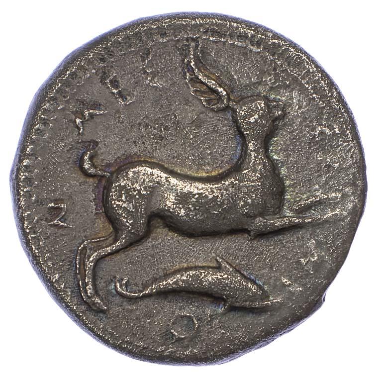 Sicily, Messana, Silver Tetradrachm
