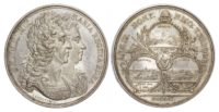 William and Mary (1688-1694), Athlone, Galway and Sligo Taken 1691, Silver medal