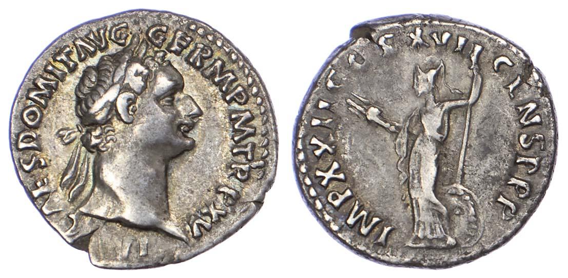 Domitian, Silver Denarius