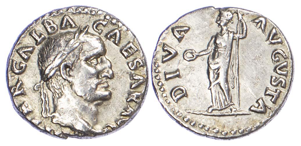 Galba, Silver Denarius