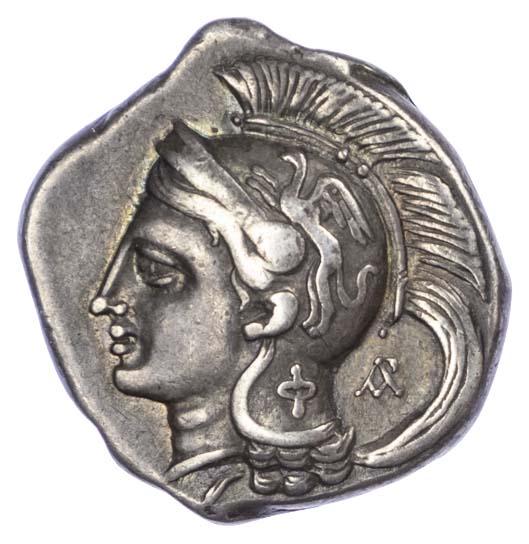 Lucania, Velia, Silver Nomos