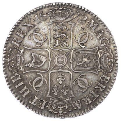Charles II (1660-85), 1672 Crown, Third draped bust