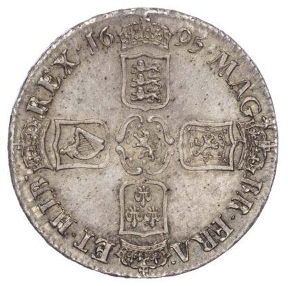William III (1694-1702), Crown, 1695, First bust, Octavo edge