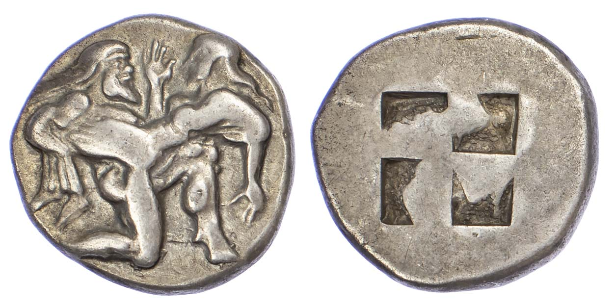 Islands off Thrace, Thasos, Silver Stater