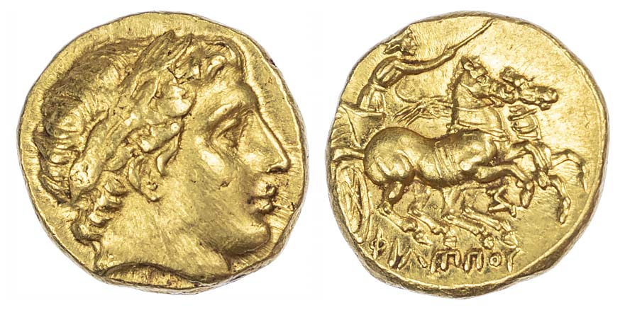 Philip II, Gold Stater